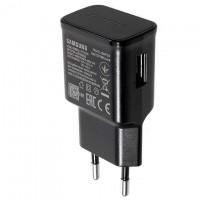 Сетевое зарядное устройство Samsung EP-TA200 Fast charger 5V-2A 9V-1.6A 1USB high copy black без коробки