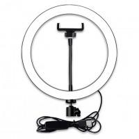 Кольцевая лампа M-126 26см (с держателем/без подставки)