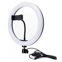 Кольцевая лампа M-20 20см (с держателем/без подставки)
