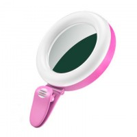 Подсветка для селфи SF-06 розовый