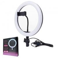 Кольцевая лампа ZD666 26см (с держателем/без подставки)