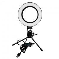 Кольцевая лампа LiveStream 16см (без держателя/на триноге)