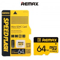 Карта памяти Remax MicroSD 64GB 10 class