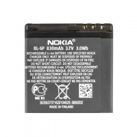 Аккумулятор Nokia BL-6P 830 mAh 6500 Classic, 7900 Crystal Prism AAAA/Original тех.пакет