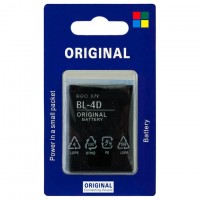 Аккумулятор Nokia BL-4D 1200 mAh E5-00, N97 mini AAA класс блистер