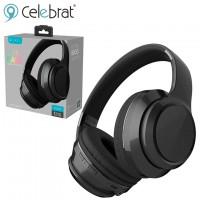Bluetooth наушники с микрофоном Celebrat FLY-6 черные