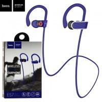 Bluetooth наушники с микрофоном Hoco ES7 синие