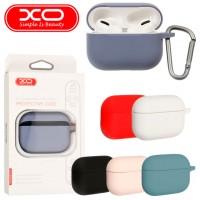 Чехол силиконовый XO для Apple AirPods Pro фиолетовый