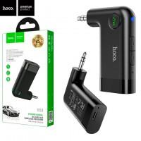 Bluetooth аудио ресивер Hoco E53 встроенный аккумулятор черный