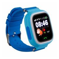 Детские смарт-часы Smart Baby Watch Q90 голубые