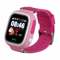 Детские смарт-часы Smart Baby Watch Q90 розовые