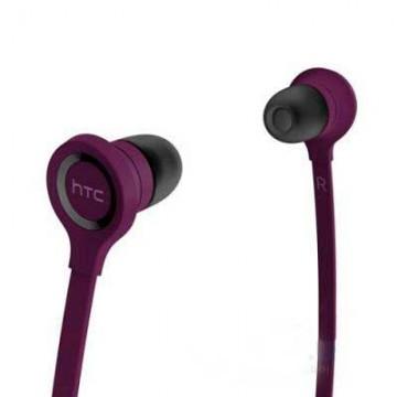 Наушники с микрофоном HTC RC E160 с пультом фиолетовые в Одессе