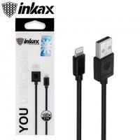 USB кабель inkax CK-01 Lightning черный