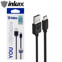 USB кабель inkax CK-01 micro USB черный