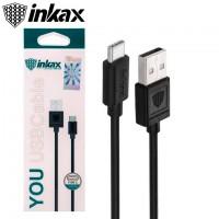 USB кабель inkax CK-01 Type-C черный
