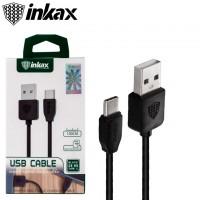 USB кабель inkax CK-60 Type-C черный