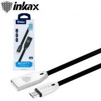 USB кабель inkax CK-62 micro USB черный