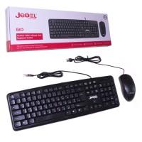 Комплект клавиатура+мышь Jedel COMBO G10+