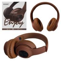 Bluetooth наушники с микрофоном E650BT коричневые