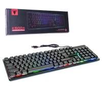 Клавиатура проводная с подсведкой Jedel K500+