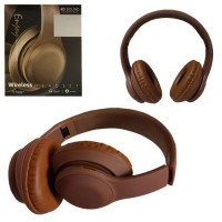 Bluetooth наушники с микрофоном E700 коричневые