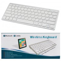 Клавиатура BlueTooth BK3001 для планшета белая