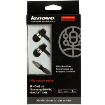 Наушники с микрофоном Lenovo 206 черные в Одессе