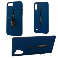 Чехол Kickstand Soft Touch Huawei P Smart Z темно-синий
