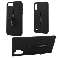 Чехол Kickstand Soft Touch Huawei P30 черный
