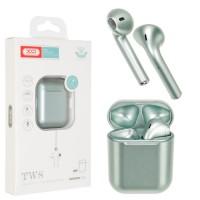 Bluetooth наушники с микрофоном XO X3 зеленые