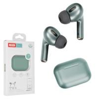 Bluetooth наушники с микрофоном XO X4 зеленые
