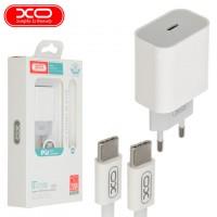 Сетевое зарядное устройство XO L77 PD 20W Type-C white