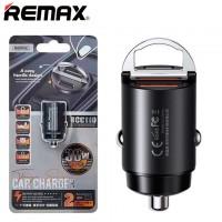 Автомобильное зарядное устройство Remax RCC110 PD 30W QC3.0 1USB black