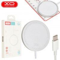 Беспроводное зарядное устройство XO CX004 для Apple iPhone 11, iPhone 12 white