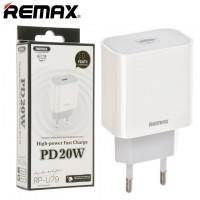 Сетевое зарядное устройство Remax RP-U79 PD 20W Type-C white