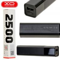 Power Bank XO PB75 2500 mAh черный