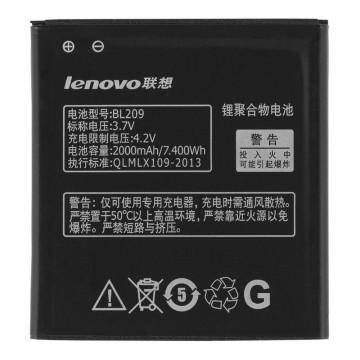 Аккумулятор Lenovo BL209 2000 mAh A516, A630e, A706, A760 AAAA/Original тех.пакет в Одессе