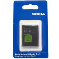 Аккумулятор Nokia BL-4S 860 mAh 2680, 7610, X3-02 Touch AAA класс блистер