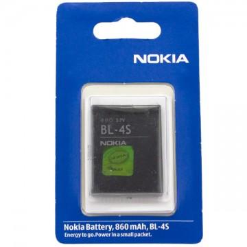 Аккумулятор Nokia BL-4S 860 mAh 2680, 7610, X3-02 Touch AAA класс блистер в Одессе