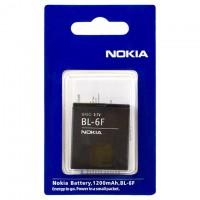 Аккумулятор Nokia BL-6F 1200 mAh N95, N78, N79 AAA класс блистер