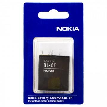 Аккумулятор Nokia BL-6F 1200 mAh N95, N78, N79 AAA класс блистер в Одессе