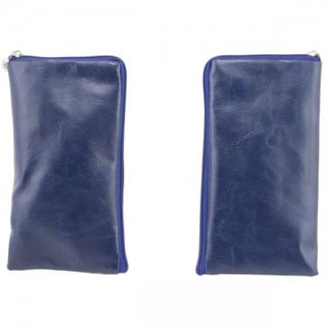Универсальный чехол-сумка 4.5″ 75x140мм Glamour синий в Одессе