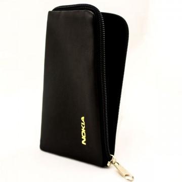 Универсальный чехол-сумка Nokia 4″ 65x125мм черный в Одессе