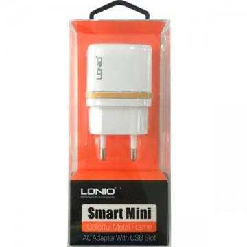 Сетевое зарядное устройство LDNIO DL-AC52 2USB 2.4A white в Одессе