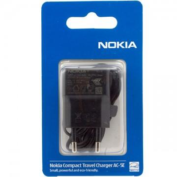 Сетевое зарядное устройство Nokia AC-5E N95 slim ориг блистер  в Одессе