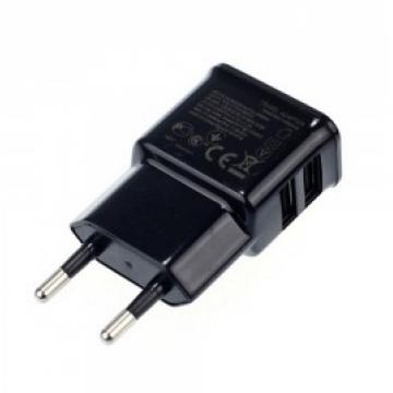 Сетевое зарядное устройство Samsung ETA-U90EWE 5.0V 2USB 2.4A (2.4A) black в Одессе