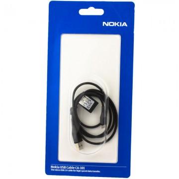 USB - Micro USB шнур Nokia CA-101 оригинал в блистере 1m черный в Одессе