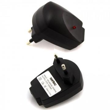 Сетевое зарядное устройство Sertec 1USB 1A black в Одессе
