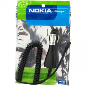 Автомобильное зарядное устройство Nokia DC-4 6101 AAA тех.пакет black в Одессе
