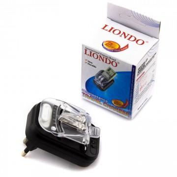 Сетевое зарядное устройство Краб Liondo-2P-318 + USB black в Одессе